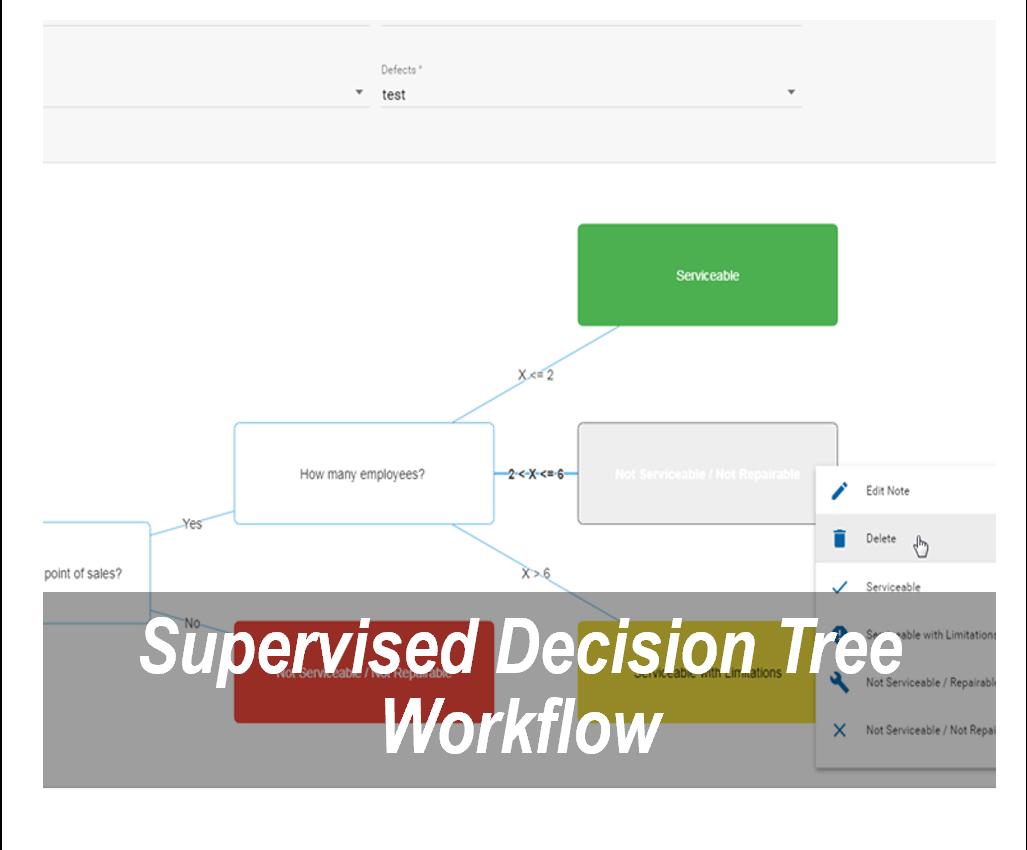 decision tree widget